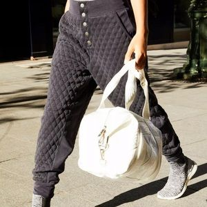 FREE PEOPLE MOVEMENT QUILTED JOGGER PANT S